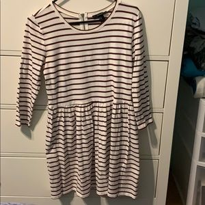 Forever21 striped mini dress